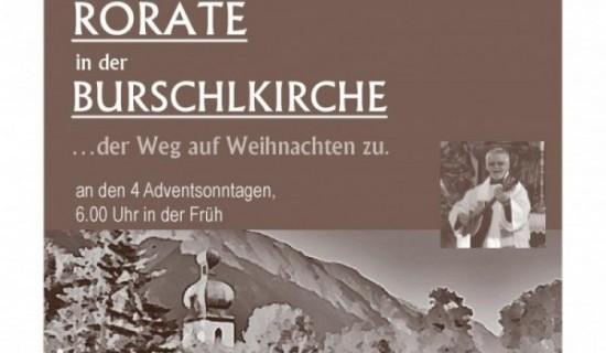 Rorate in der Burschlkirche