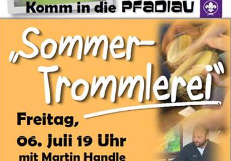 Sommer-Trommlerei