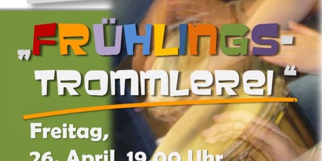 Frühlingstrommlerei am 26.4.2019